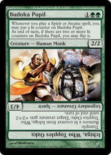 Budoka Pupil / Ichiga, Who Topples Oaks