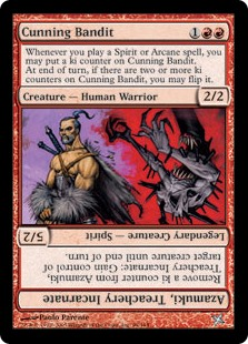 Cunning Bandit / Azamuki, Treachery Incarnate