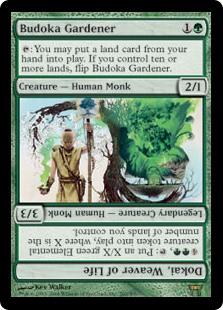 Budoka Gardener / Dokai, Weaver of Life