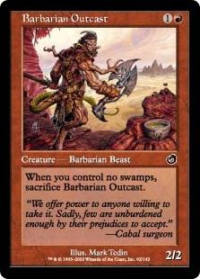 Barbarian Outcast