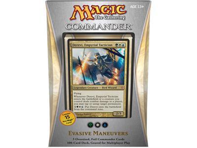 Commander 2013 - Evasive Maneuvers (Green/White/Blue)