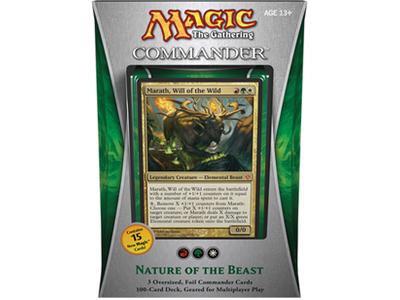 Commander 2013 - Nature of the Beast (Red/Green/White)