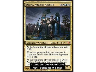 Oloro, Ageless Ascetic