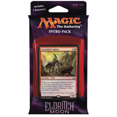 Eldritch Moon - Intro Pack Untamed Wild (Red)