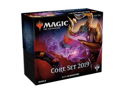 MTG Magic The Gathering Core 2019 M19 Bundle Fat Pack 10 Boosters