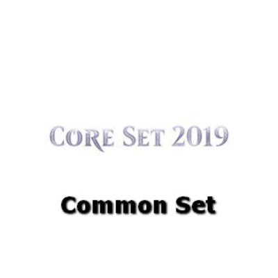 Magic19 Core Set 2019 Common Set