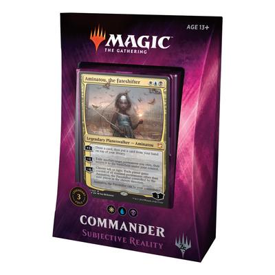 "Commander 2018: ""Subjective Reality"" Deck"