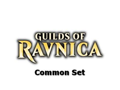 Guilds of Ravnica Common Set
