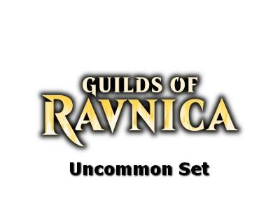 Guilds of Ravnica UNCOMMON Πλήρες σετ