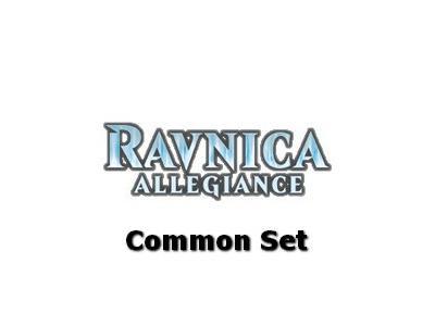 Ravnica Allegiance: Πλήρες σετ από Common