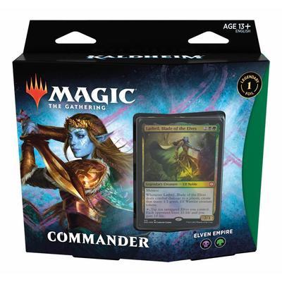 "Commander Kaldheim ""Elven Empire"" Deck"