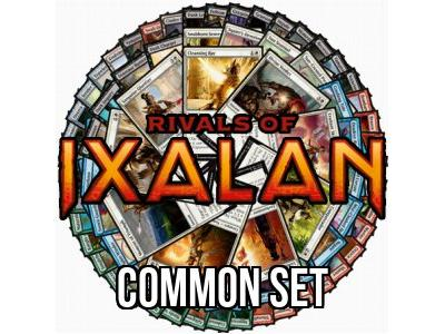 Rivals of Ixalan Common Set