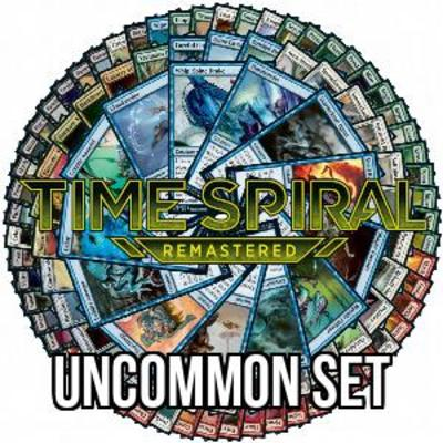 Time Spiral Remastered Uncommon Set