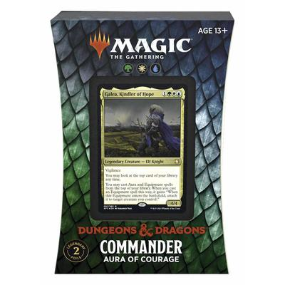 Commander D&D : Aura of Courage