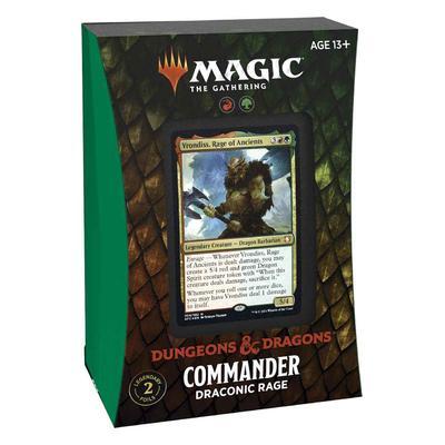 Commander D&D : Draconic Rage