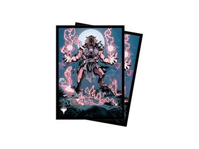 "100 Innistrad Midnight Hunt: ""Reckless Stormseeker"" Sleeves"