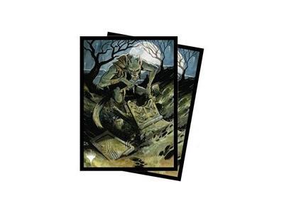 """100 Innistrad Midnight Hunt: """"Graveyard Trespasser"""" Sleeves"""