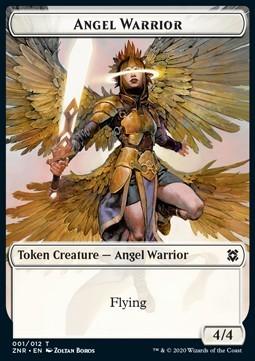 Angel Warrior Flying 2/4 Token