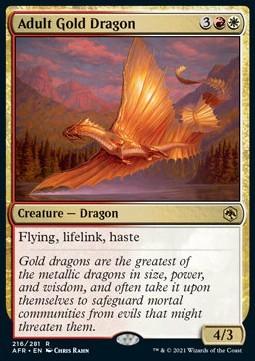 Adult Gold Dragon