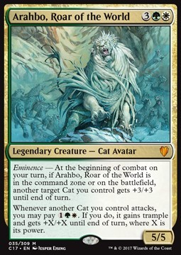 Arahbo, Roar of the World