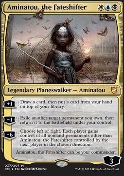 Aminatou, the Fateshifter (Version 1)