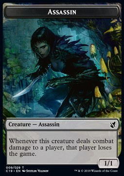 Assassin Token (Black 1/1)
