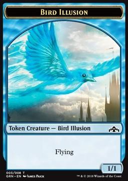 Bird Illusion Token (Blue 1/1)