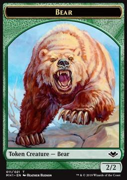 Bear Token (Green 2/2)