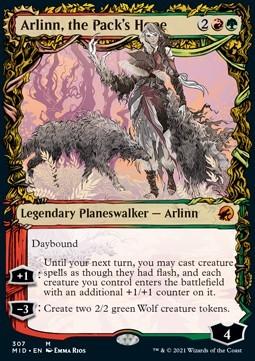 Arlinn, the Pack's Hope // Arlinn, the Moon's Fury (V.2)