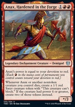 Anax, Hardened in the Forge